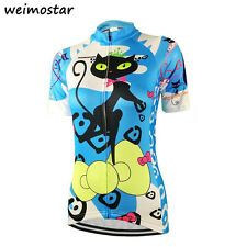 Cycling Bike Jersey Short Sleeve Lady Shirt Tee Mountain MTB Top Clothes Women