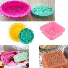 4 Styles Silicone Ice Cube Candy Chocolate Cake Cookie Cupcake Soap Molds Mould