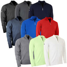 Callaway Golf 2017 Mens Merino 1/4 Zip Sweater Wool Pullover Jumper Top