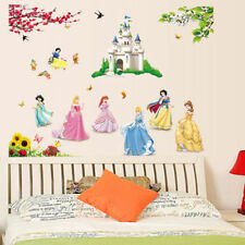 DISNEY PRINCESS & CASTLE | Wall art sticker quote vinyl decor decal transfers
