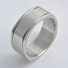 Stainless Steel Mens Womens wedding rings size 8 9 10 11