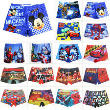 Toddler Boys Kids Mickey Spiderman Shorts Bottoms Swimming Trunks Beach Swimwear