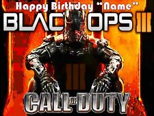 CALL OF DUTY !! Edible Cake Topper Image Frosting Sheet - quarter & half size