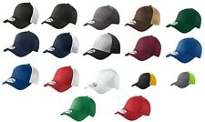 New Era Pro Brand 39Thirty Blank Hats Stretch Mesh Back Cap. 15 Colors NE1020.