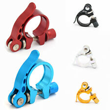 MTB Road Bicycle Cycling Adjustable Seat Post Clamp Quick Release QR Style Clamp