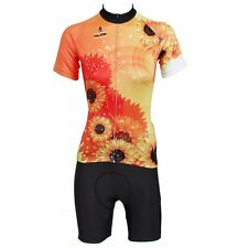 Sunflower Women Cycling kits Bike clothing Bicycle Team Jersey / Jacket & Shorts