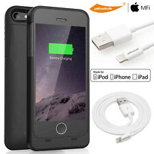 8-Pin 3M Lightning to USB Sync Charger Cable+iPhone 5 5S SE Backup Charging Case