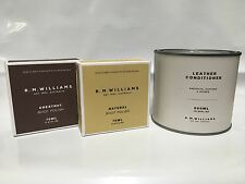 RM Williams 500ml Leather Conditioner + 2 Stockman's Boot Polish Deal