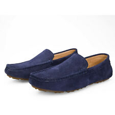 Men Driving Flats Shoes Male Loafer Moccasin Suede Leather Shoes High Quality