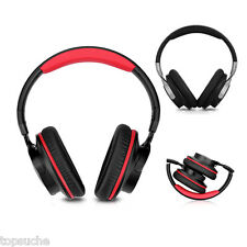 Noise Cancelling Wireless Bluetooth Headphone Stereo Fold Headset Call Music+Mic