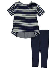 "Nautica Little Girls' ""Seaside"" 2-Piece Outfit (Sizes 4 - 6X)"