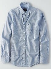 NWT AMERICAN EAGLE Long sleeve Striped button down shirt Small or Large