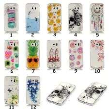 HD Slim Clear Soft Silicon TPU IMD Rubber Gel Back Case Cover For Samsung Galaxy