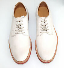 MARC JACOBS MAINLINE LACE UP OFF WHITE DERBY SHOES MADE IN ITALY 43 £400