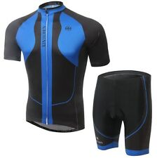 Cycling Bike Bicycle Short Sleeve Clothing Sports Jersey + (Bib) Shorts Suit