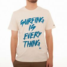 Rip Curl Surfing is everything S/S T-SHIRT TEE Shirt CTEDL4 Optical white