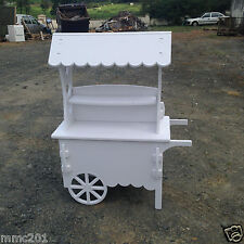 Candy Carts White Wedding Cart Sweet Cart Christening Cart Ideal for celebration