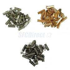 12x Crimp Clasp and Clip Ends with Necklace Lobster Clasp Extender Chain