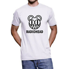 Radiohead T-Shirt, Modified Bear logo promotional campaign Whites Tee