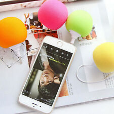 Mini 5.5mm Sponge Ball MP3 iphone Cell Phone Portable PC Music Speaker iPod