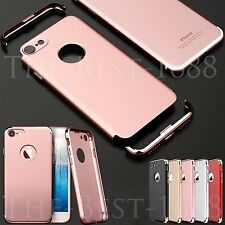 Hybrid 360° Slim Hard Back Cover + Screen Protector Skin For iPhone Plus 7 Case