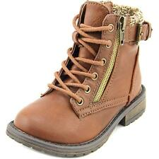 Sarah Jayne Rockit Toddler  Round Toe Synthetic Brown Ankle Boot