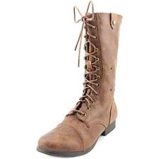 Madden Girl Tiara   Round Toe Synthetic  Mid Calf Boot NWOB