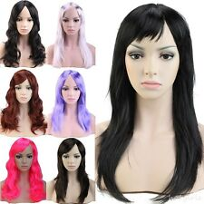 Women's Sexy Long Curly Fancy Dress Wigs Cosplay Costume Ladies Full Wig Party g