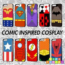 COSPLAY COMIC INSPIRED BY HARELY QUINN BATMAN JOKER SUPERMAN Phone Case Cover
