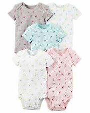 New Carter's 5 Pack Bodysuits Girl Tiny Floral NWT Size NB 3 6 9m 12m 18m 24m