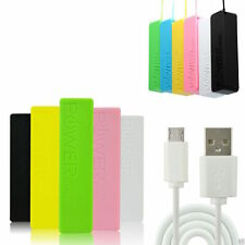 Power Bank Portable USB Battery Charger for iPhone iPad HTC Samsung 2600mAh