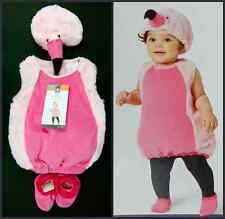 Girls Pink Flamingo Halloween Costume Sizes 0-6 Month 6-12 Month 12-18 Month