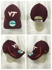 NCAA Virginia Tech Hokies New Era 9Forty NE Speed Team Color Cap Hat Adjustable