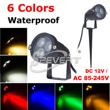 IP65 9W 3X3 LED Outdoor Garden Lawn Landscape Yard Path Flood Spot Light Lamp
