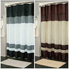"Fabric Shower Curtain Home Goods Shower Curtain Bathroom Accessories 70"" x 72"""