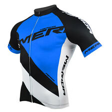 Blue Mens Merida Clothing Cycling Jersey Top MTB Cycle Jacket / Shirts  S-XXXL