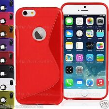 """S Line Grip Soft TPU Gel Skin Case Cover For Apple iPhone 7 (4.7"""")"""