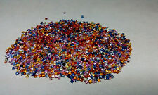 Natural Multi Sapphire Square Cut 2mm & 3mm Multi Color Loose Gemstone