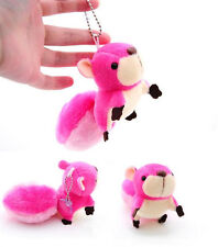 Handbag Squirrel New Pendant Toy Pendant Ornaments Plush Toy Doll Stuffed Toy