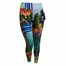 Hot Chillys MTF 4000 Base Layer Tights for Women Gidget Tropical Print HC7438