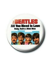 The Beatles Baby, You're a Rich Man Badge