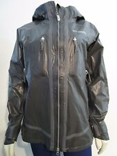 Womens S-M Columbia Titanium Outdry Better Pinnacle Waterproof Rain Jacket Black