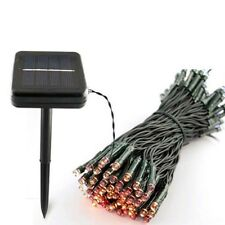 LED Solar String Christmas Lights Garden Yard Lamp 8 work Modes Outdoor LED Lamp