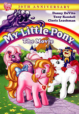 My Little Pony: The Movie (DVD, 2015, 30th Anniversary Edition)