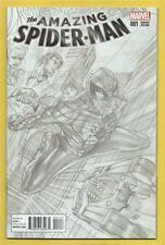 Amazing Spider-Man #1  NM  Alex Ross B & W Sketch Variant
