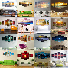 Hot Sale 5Pcs Modern Abstract Wall Decor oil painting on art canvas (no frame)