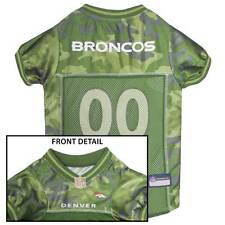 DENVER BRONCOS Dog Jersey * CAMO * XS-XL NFL Football Camouflage Puppy Pet