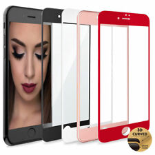 Premium 3D Full curved Tempered Glass Screen Protector For iPhone 6 6s Plus 7+