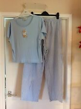 Ladies size 16 blue and white pyjamas from LA SENZA
