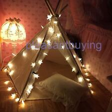 2.5/5M Pentagram Star String Fairy Lights 20/40 LED Christmas Wedding Party Lamp